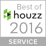 best of houzz service badge 2016
