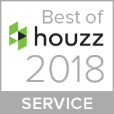 best of houzz service badge 2018